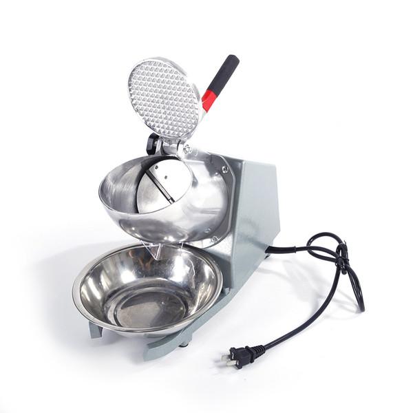 Paslanmaz Çelik Pratik Bar Ev mutfak Kullanım Elektrikli Buz Kırıcı Tıraş Makinesi Buz Kırma Kar Koni Makinesi Maker Ücretsiz Kargo