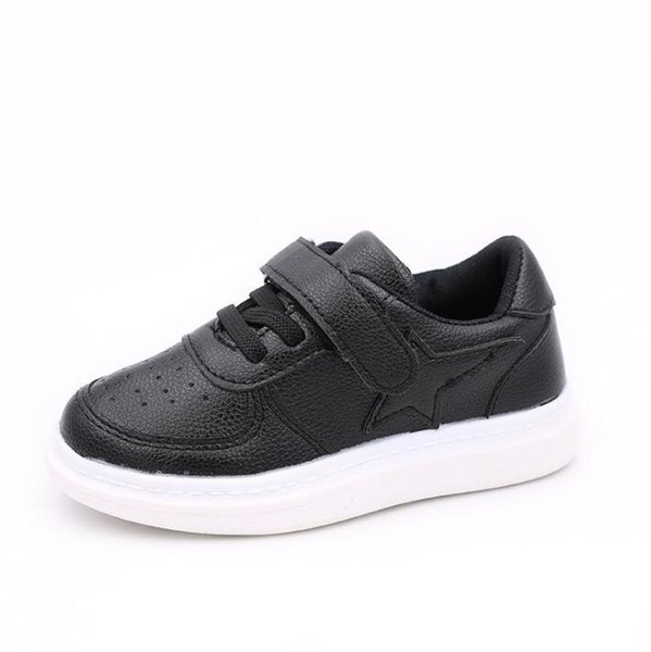 2019 autumn new boys and girls breathable fashion shoes middle and small children lightweight comfortable casual shoes baby white shoes 26-3