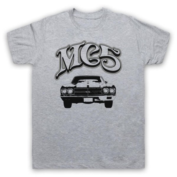 MUSCLE CAR EL MC5 IMPRESIÓN RETRO CAMISETA NO OFICIAL MENS LADIES TAMAÑOS COLORES