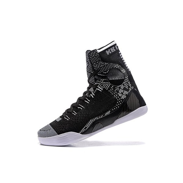 best sneakers 72812 7f509 Mens kobe 9 elite high cut basketball shoes red Christmas Black White BHM  MVP Easters Blue