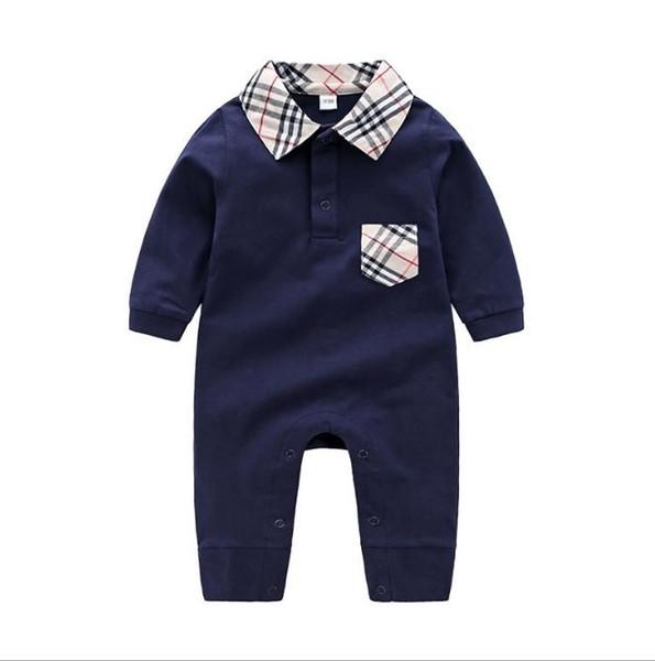 2020 новые дети пижамы Детские комбинезоны новорожденных детская одежда с длинным рукавом нижнее белье хлопок костюм мальчики девочки осень комбинезон