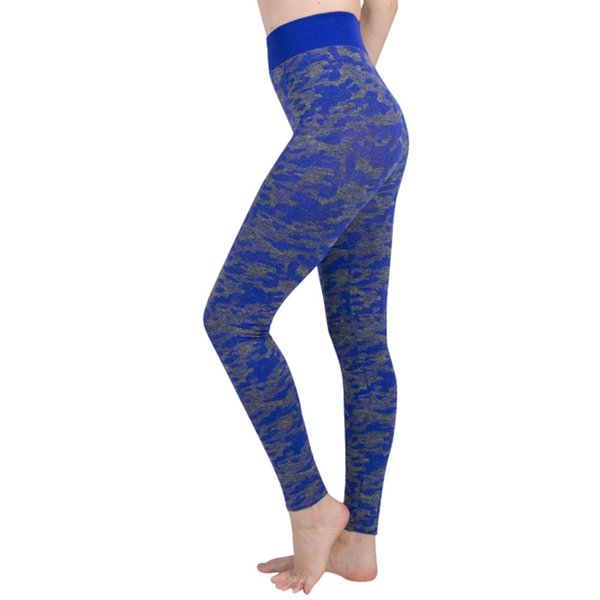 Perimedes Women Tight Digital Camouflage Yoga Sports Pants Lady Hip High Waist Thread Workout Sports Running Leggings Pant#G50