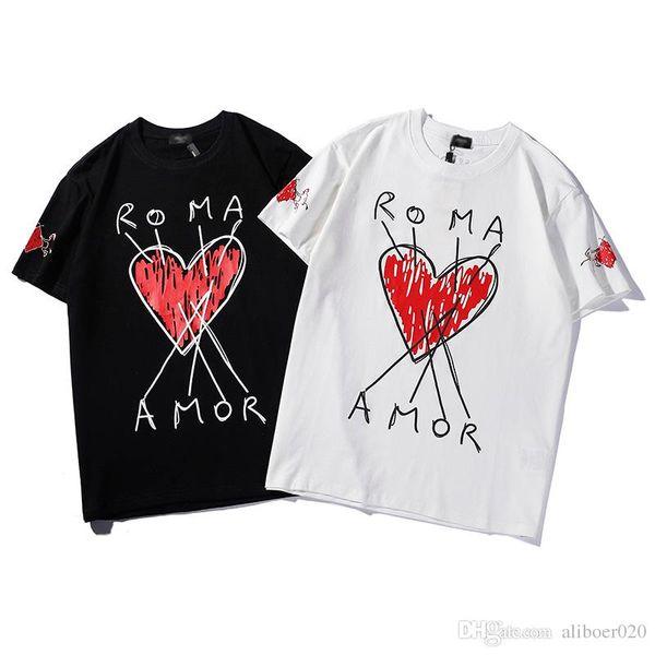 Luxury FD мужская марка футболка известный дизайнер тенденция женщины футболка мода дикий отдых пара футболка улица на открытом воздухе свободные мужские футболки футболки