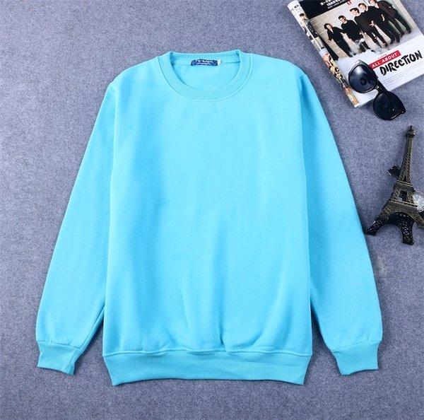 하늘색 스웨터