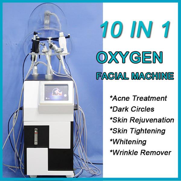 2019 Multifunctional Oxygen Facial Machine Skin Oxygen Apparatus Facial Skin Care Equipment skin whitening laser Deep Cleaning