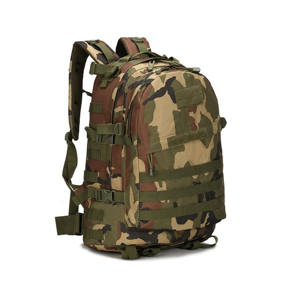 3D Outdoor Sport Backpack Military Tactical Climbing Backpack Army Tactical Molle Bag Camping Hiking Rucksack Travel Bag Pack