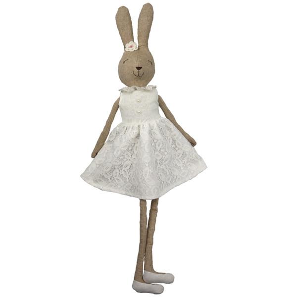 70 Cm Cute Soft Plush Doll Baby Dress Rabbit Girls Gift Kawaii Toy Stuffed Animal Toys Q190521
