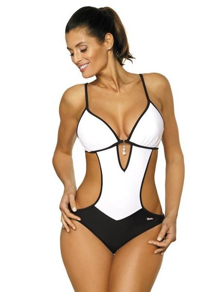 Sexy Perizoma intero Costume da bagno Plus Size Costumi da bagno Donna Costume da bagno Costumi da bagno Monokini Beachwear Nuoto S ~ XXL