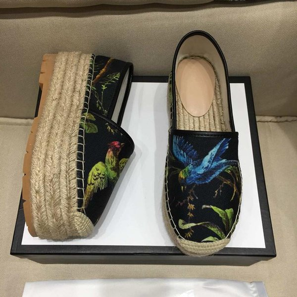 designer espadrilles Luxury women Dress Shoes New 2019 Casual Shoes womens Loafers Superstar Luxury Designer women Shoe with box