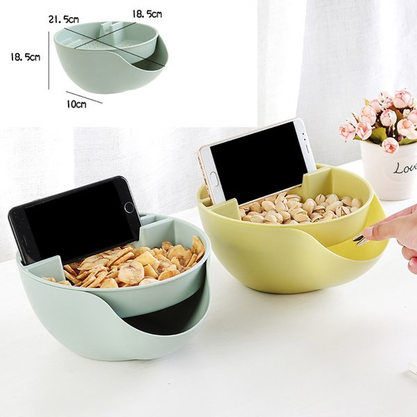 High Quality Creative Shape Bowl Perfect For Seeds Nuts And Dry Fruits Plastic Storage Box Newest Housekeeping Organizer Case
