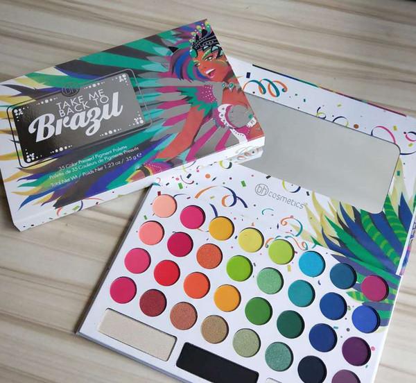 35 sombra de olho de cor TAKE ME BACK EyeShadow Paleta Make up Paleta Sombra Encantadora Eye Shadow Powder 2 design KKA6924