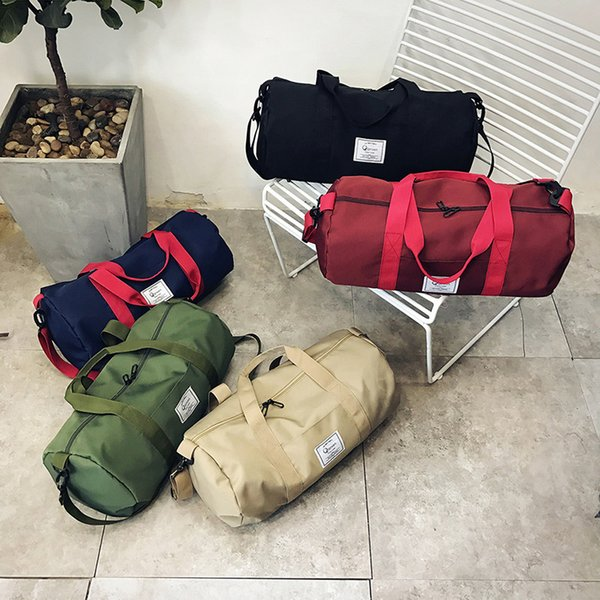 Fitness Gym Yoga Bags Men and Women Waterproof Oxford Cloth Sports Handbag Outdoor Travel Camping Multi-function Duffel Bags