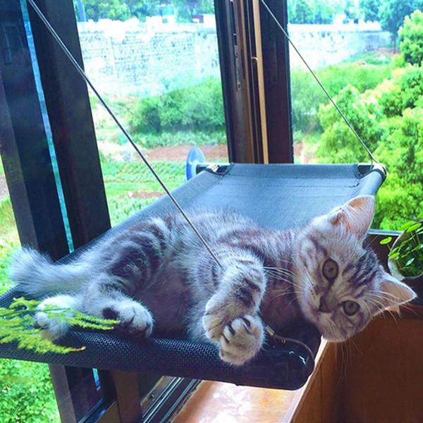 Kedi Asılı Yataklar Pencere Monte Pet Hamak Güvenli Asılı Pet Yataklar Kedi Güneşli Koltuklar Kedi Malzemeleri Ücretsiz Kargo LYW3480