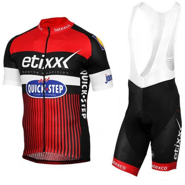 free shipping 4 colors pro cycling wear TEAM ETIXX cycling jersey bib shorts set Ropa Ciclismo summer breathable BICYCLING Maillot Culotte
