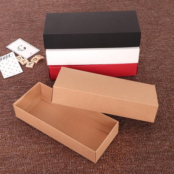 Оптовая Небо и земля Обложка Крафт-бумага Подарочная коробка Творческий носки Нижнее белье колготки Упаковка Box WB996