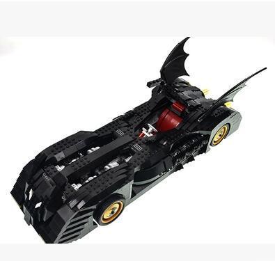 7116 Avengers Alliance puzzle assembly building block gift Batman Thunderbolt chariot