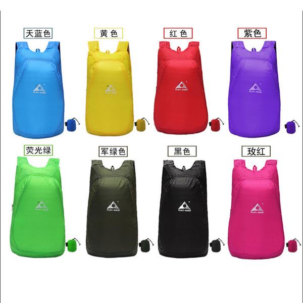Новый 8 цветов большой емкости портативный сумка легко сложить водонепроницаемый тонкий открытый спортивная сумка для женщин и мужчин