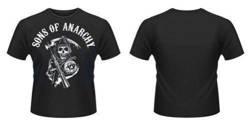 Novo Oficial FILHOS DE ANARQUIA - CLÁSSICO T-Shirt frete grátis marca Hipster O-pescoço Ocasional T Dos Homens Quentes Barato Nova Marca-roupas