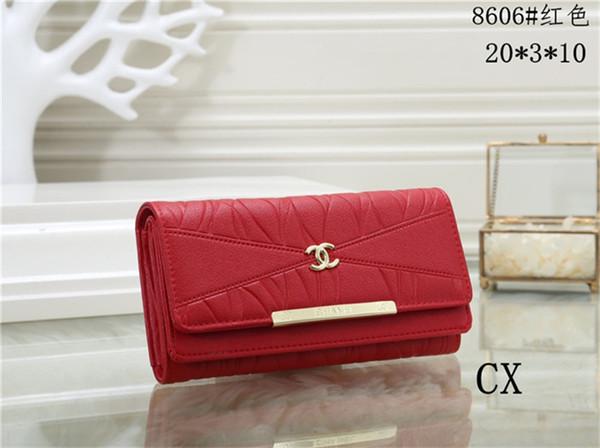 Nouveau mode hommes femmes sacs à main dames portefeuille de bonne qualité en cuir Unisexe sacs d'embrayage portefeuille HY508606
