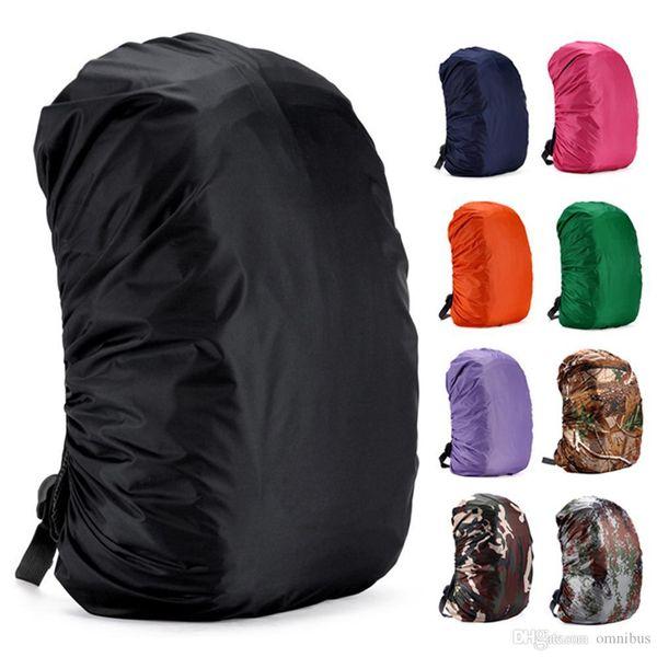 Rain Cover Mochila 35L Bolsa a prueba de polvo Impermeable Portátil Ultraligero Bolsa de hombro Funda Proteger para acampar al aire libre Senderismo