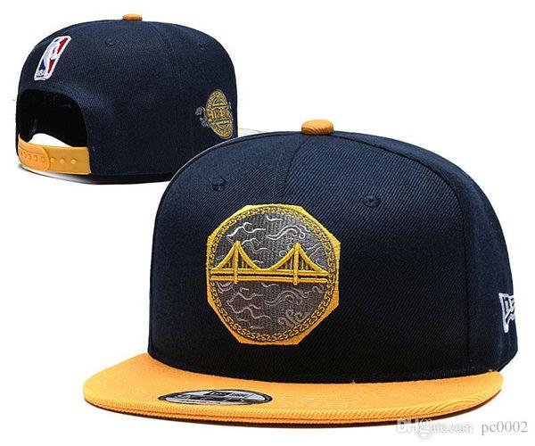 Herren Golden S Warriors New Schwarz Grau Blau Ball Caps Offizielles Team Color 59FIFTY Fitted Hat 02