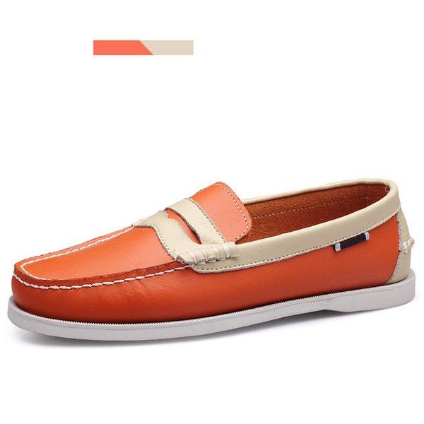 Orange weiß