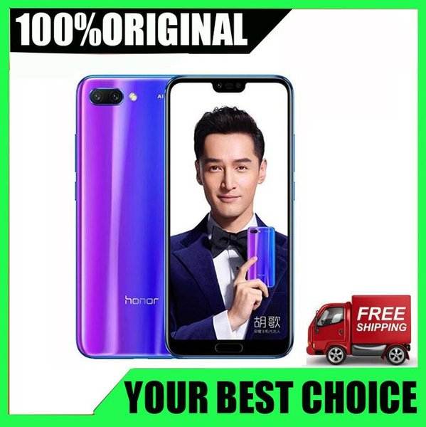 Huawei Honor 10 Android 8.0 4G LTE Smartphone 3D Curved Glass Kirin 970 AI Processor 5.8 Inch 24MP Camera