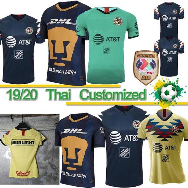 At Home Coupons 2020.Thai 2019 2020 Liga Mx Club America Soccer Jerseys C Dominguez R Jimenez R Sambueza P Aguilar Home Away Adult Kids Women Football Shirt