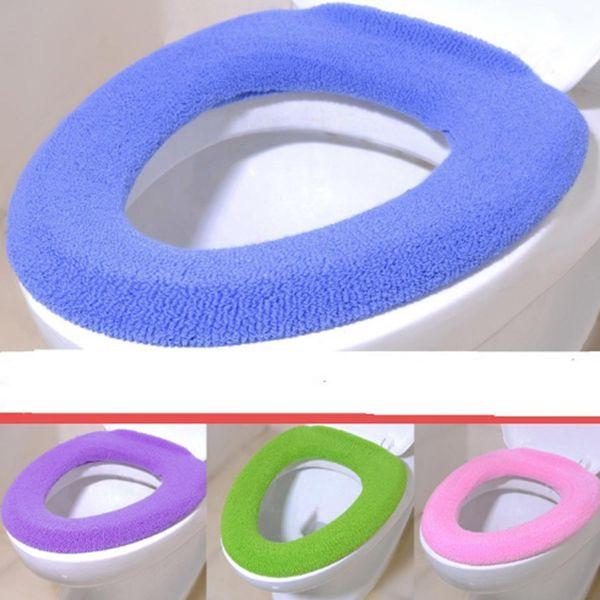 Nova Moda Nova Casa de Banho Lavável Mais Quente Macio Higiênico Closestool Tampa de Assento Tampa Almofada Tapete Pad Moda Novos itens do Agregado Familiar
