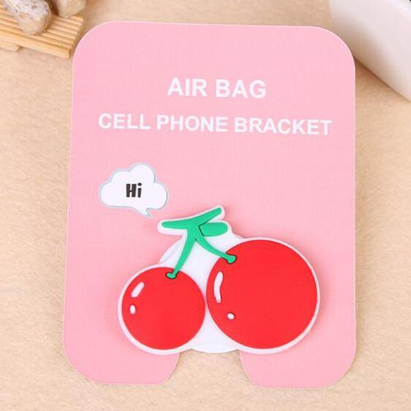 Support de téléphone carton mignon élargir support de doigt de support pour iPhone Sakura luna chat anneau de téléphone avec emballage de détail