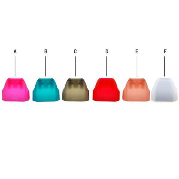 El más nuevo estilo colorido acrílico punta de goteo prueba tapa de la boquilla tapa portátil diseño innovador para Caliburn Vape Pod Pen Kit Hot Cake DHL