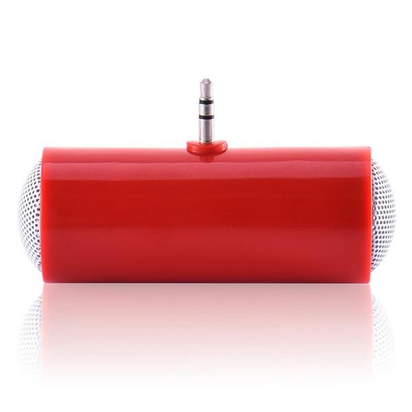 3,5 mm Direkteinsatz Stereo Mini-Lautsprecher Mikrofon Tragbarer Lautsprecher MP3-Musik-Player Lautsprecher für HandyTabl