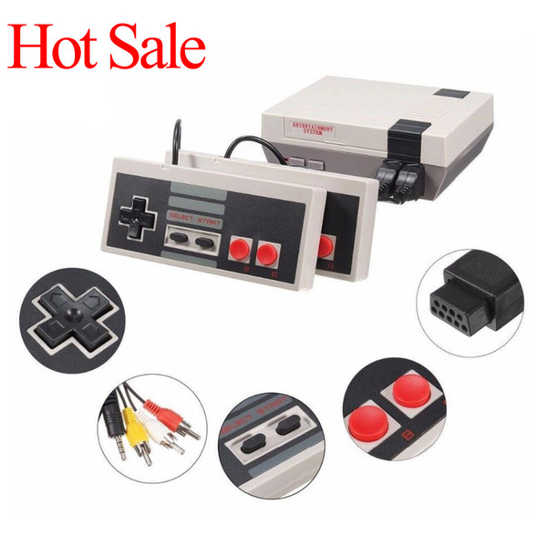 best selling Handheld game console Mini TV can store 620 500 Game Console Video Handheld for NES games consoles