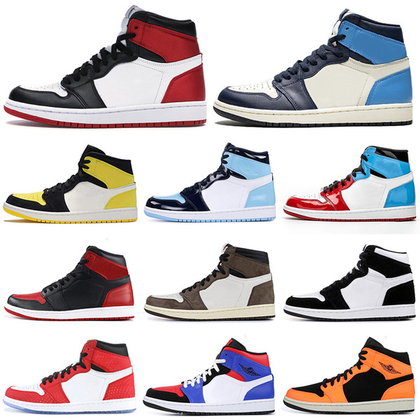 good selling aliexpress discount sale Acheter Nike Air Jordan Retro Shoes Nouvelle Arrivée 1 Top Banni ...