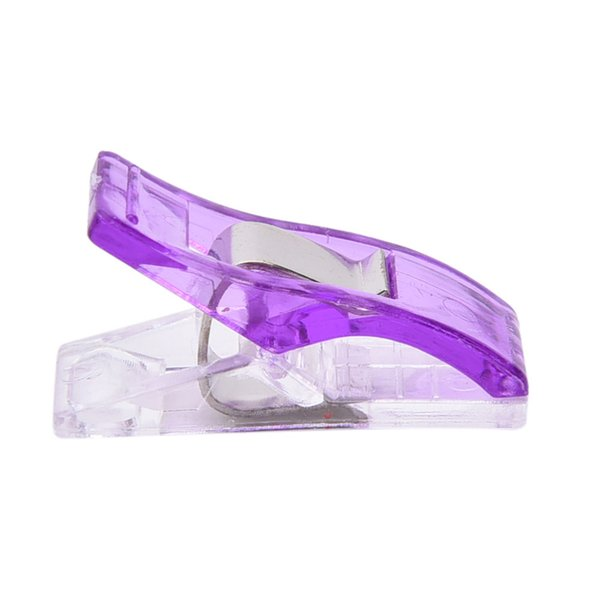 PVC Plastic Clips For Patchwork Sewing DIY Crafts Quilt Quilting Clips Clover Wonder Clip School Office Supplies 2.7*1CM