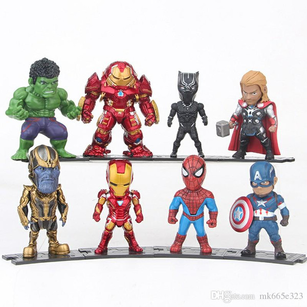 2020 The Avengers Action Figures Pvc Kids Collectable Model