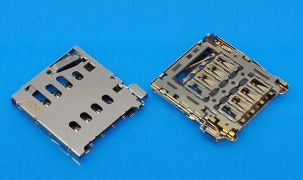 Leitor de cartão SIM slot titular bandeja módulo porta conector soquete para Huawei Google Nexus 6P para o Google Nexus 7