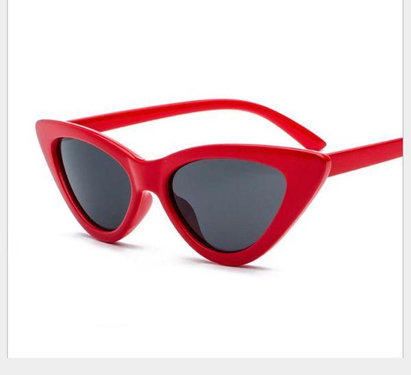 Triangle Eye Sunglasses Euro-American Street Photo Couple Sunglasses Small Frame Personal Sunglasses