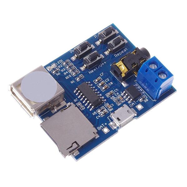 JABS Mp3 без потерь декодеры декодирования мощность Mp3-плеер аудио модуль декодер доска поддержка TF карты USB
