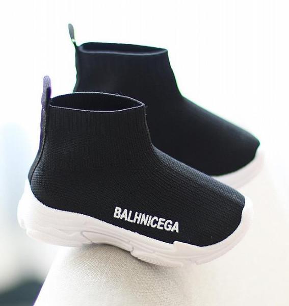 Çocuk AYAKKABI Spor Nefes Erkek Sneakers Çocuklar Kızlar için Ayakkabı Kot Denim Rahat Çocuk Düz Kanvas Ayakkabılar