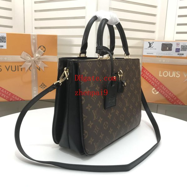 borsa di moda di marca di alta qualità colore classico corrispondenza borsa di tela Monogram borsa a tracolla borse a tracolla borse da donna QW-13