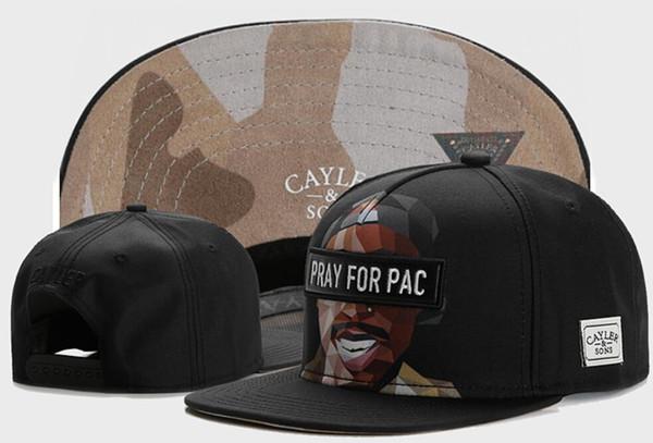 2019 New retail Fashion CAYLER & SONS Snapback Cap Hip-hop Men Women Snapbacks Hat Baseball Sports Cap, CAYLER & SONS Pray for Pac caps