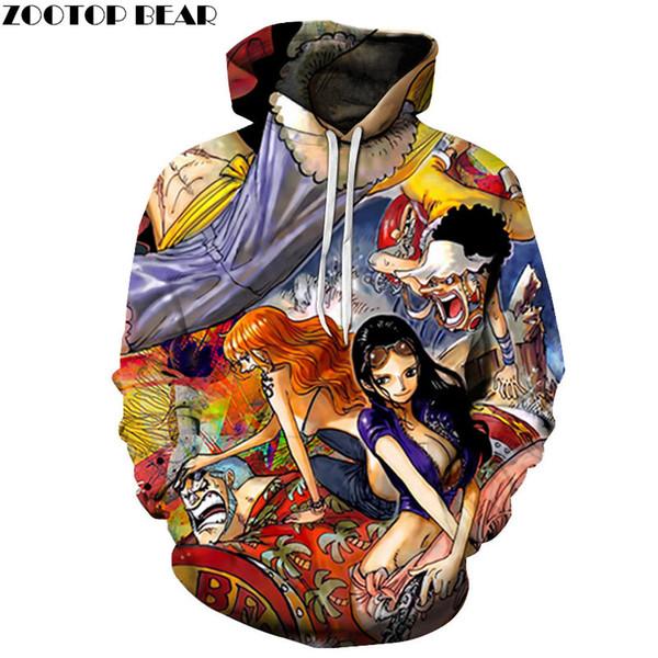 Güzel Kızlar 3D Baskılı Kazak Erkekler Hoodies Eşofman Kazak Sonbahar Kış Hoody Kapşonlu Coat Marka Dropship