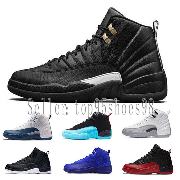 2019  Designer shoes Nike men's women XII 12 Herren Basketball-Schuhe Wntr PRM CNY Gym Rot Playoff The Master 12s Schuhe Sport Sneakers Trainer 40-47