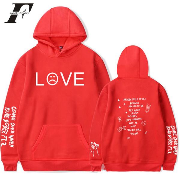 Kpop Lil Peep Print hoodie sweatshirt Women/Men cry baby Hoody Clothes 2019 Harajuku Casual hit hop streetwear Plus Size 2019