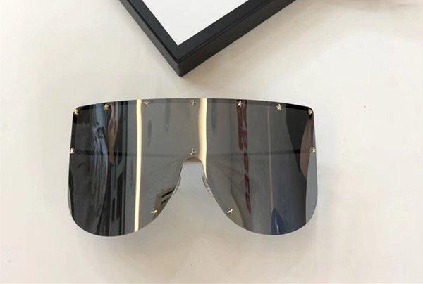 espejo de plata de la lente