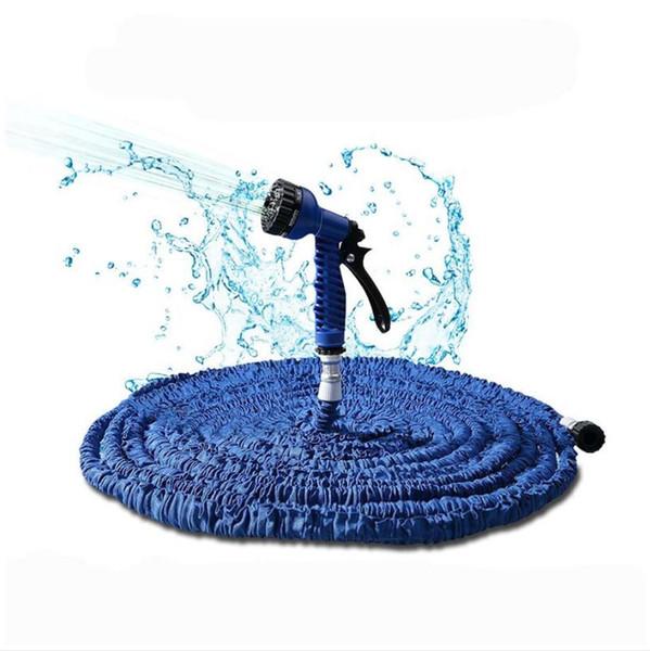75 pés (22,5 m) de água de irrigação flexível jardim mangueira de água pistola de pulverização mangueira mágica lavagem de carro ferramentas de limpeza em casa