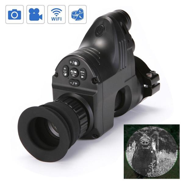 PARD NV007 Cámaras con visión nocturna digital 5w IR Visión nocturna con infrarrojos Caza Alcance Rifle nocturno Vista óptica con video 1080P y foto