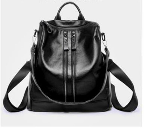 Women New Pattern Package Cowhide Both Shoulders Women's Style Knapsack Gao Yuanyuan Star With Paragraph Genuine Leather handbags