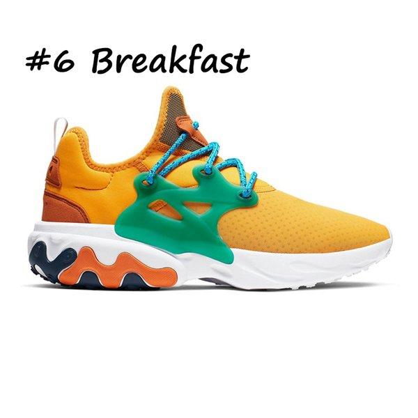 6 café da manhã